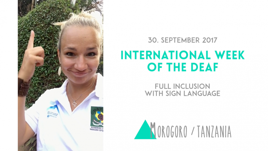 International Week of the Deaf in Morogoro (Tanzania)