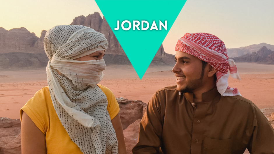 "JORDAN – taking a photo of ""arab couple"""