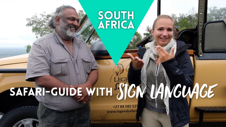 Safari-Guide with Sign Language